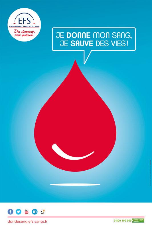 Je donne mon sang, je sauve des vies